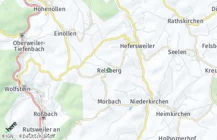 Stadtplan Relsberg