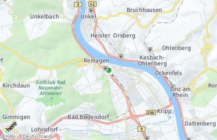 Stadtplan Remagen