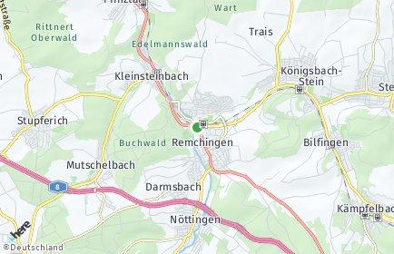 Stadtplan Remchingen