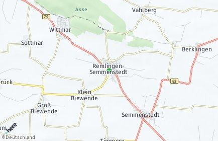 Stadtplan Remlingen-Semmenstedt