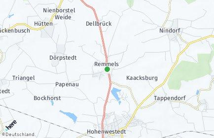 Stadtplan Remmels