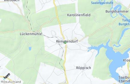 Stadtplan Remptendorf