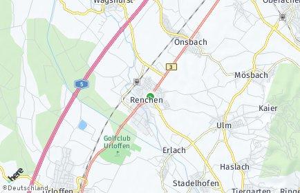 Stadtplan Renchen