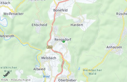 Stadtplan Rengsdorf