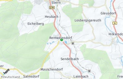 Stadtplan Rentweinsdorf