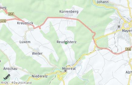 Stadtplan Reudelsterz