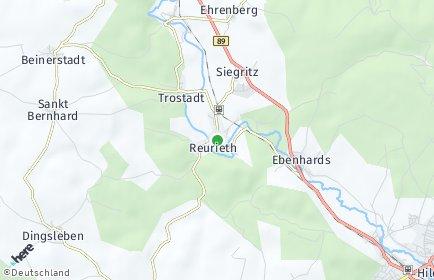 Stadtplan Reurieth