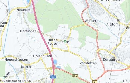 Stadtplan Reute (Breisgau)