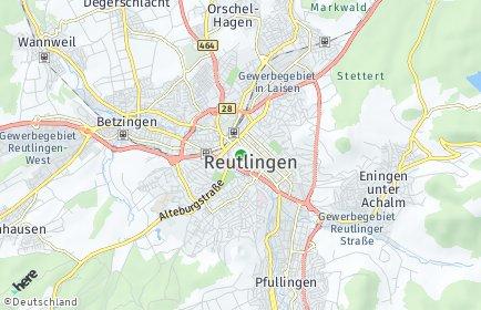 Stadtplan Reutlingen OT Betzingen
