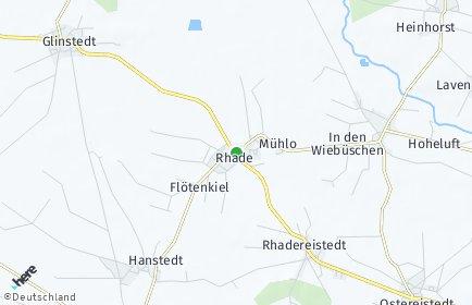 Stadtplan Rhade