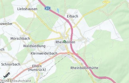 Stadtplan Rheinböllen OT Rheinböllerhütte