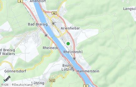 Stadtplan Rheinbrohl