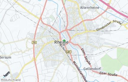 Stadtplan Rheine