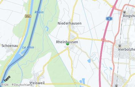 Stadtplan Rheinhausen
