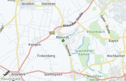 Stadtplan Rheurdt