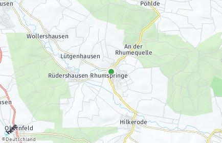 Stadtplan Rhumspringe
