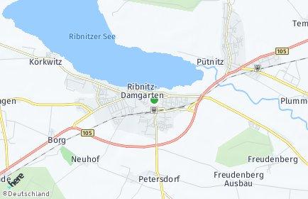 Stadtplan Ribnitz-Damgarten