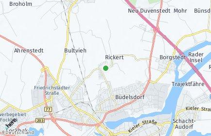 Stadtplan Rickert