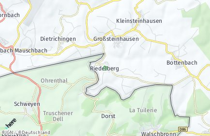 Stadtplan Riedelberg