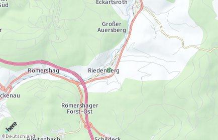 Stadtplan Riedenberg