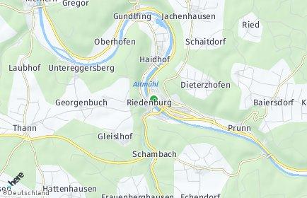 Stadtplan Riedenburg OT Jachenhausen