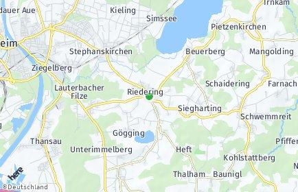 Stadtplan Riedering