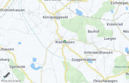Stadtplan Riedhausen
