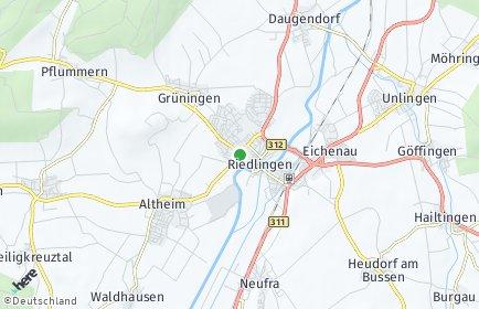 Stadtplan Riedlingen