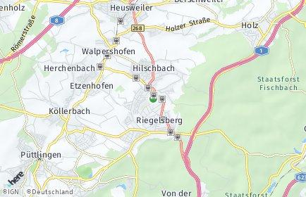 Stadtplan Riegelsberg