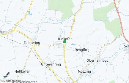 Stadtplan Riekofen