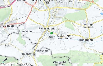 Stadtplan Rielasingen-Worblingen