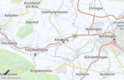 Stadtplan Riesbürg