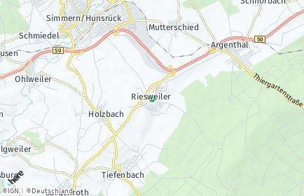 Stadtplan Riesweiler