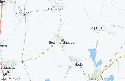 Stadtplan Riethnordhausen