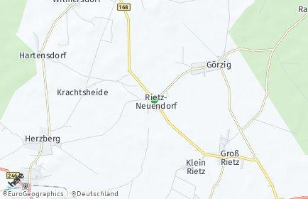 Stadtplan Rietz-Neuendorf
