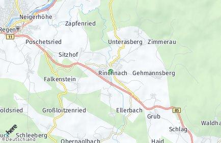 Stadtplan Rinchnach