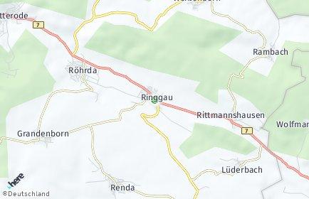 Stadtplan Ringgau