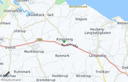 Stadtplan Ringsberg