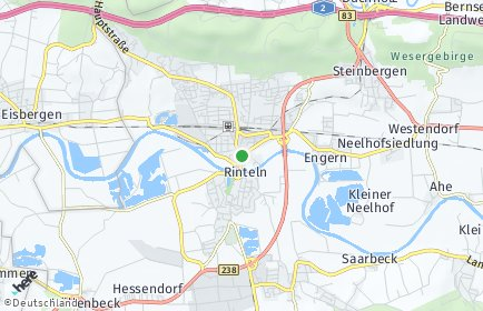 Stadtplan Rinteln