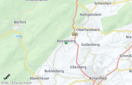 Stadtplan Rinzenberg