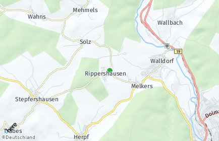 Stadtplan Rippershausen