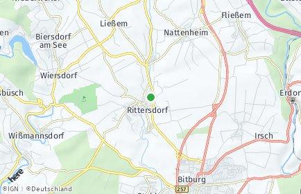 Stadtplan Rittersdorf