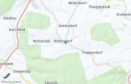 Stadtplan Rittersdorf (Thüringen)