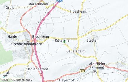 Stadtplan Rittersheim