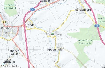 Stadtplan Rockenberg