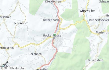 Stadtplan Rockenhausen OT Marienthal