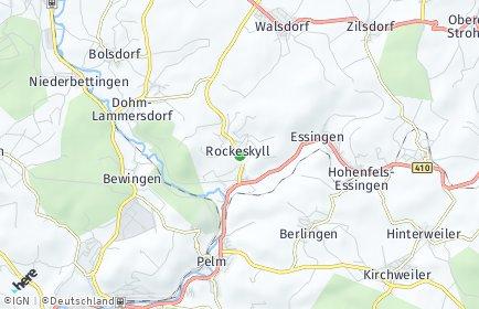 Stadtplan Rockeskyll
