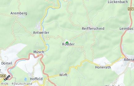 Stadtplan Rodder