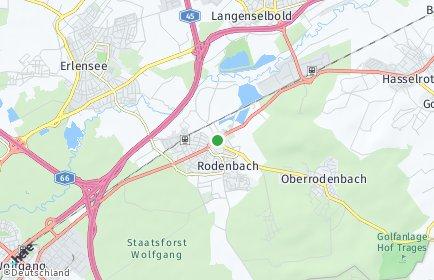 Stadtplan Rodenbach (Main-Kinzig-Kreis)