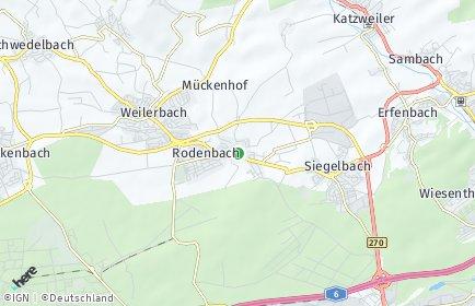 Stadtplan Rodenbach (Westpfalz)